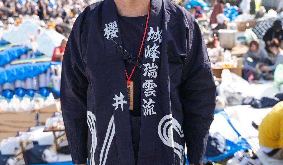 藍染袢天(はんてん)03
